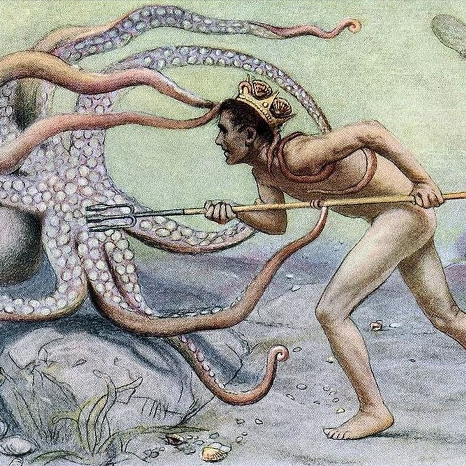 The Forgotten Sport of Octopus Wrestling
