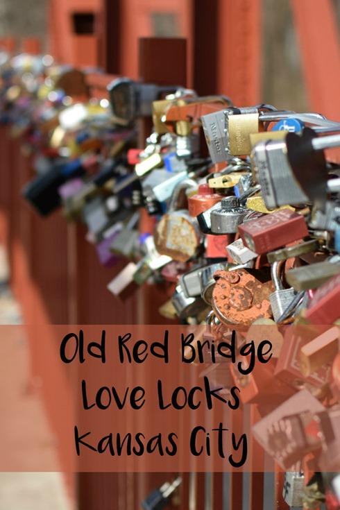 Old Red Bridge Love Locks