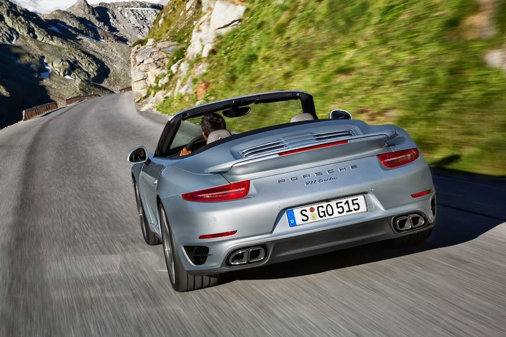 2014 Porsche 911 Turbo Cabriolet 1