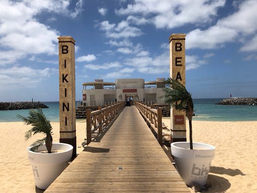 Bikini Beach palace gates