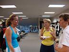 Barb Coster, Linda Jokl, and Lauren Crowley (Lyme Shores)