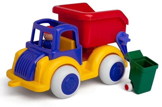 Xe Vệ sinh Môi trường 25 cm Viking Toys V1256