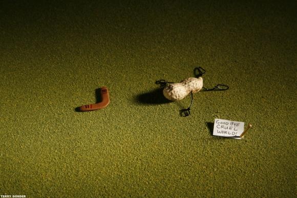 Неодушевени предмети с вдъхнат живот от Тери Бодрер