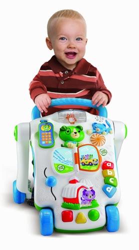 Xe tập đi và học chữ Scout & Friends Baby Walker giúp bé tự tin  đẩy xe và tập luyện được kỹ năng vận động đôi chân