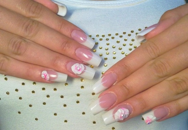 Modern Wedding Manicure Ideas
