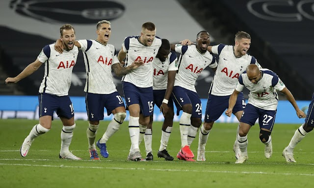 Tottenham Eliminate Chelsea On Penalties In League Cup