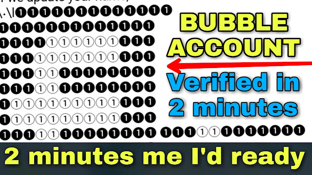 How to create bubble name account on facebook || 100% working step by step in urdu & hindi