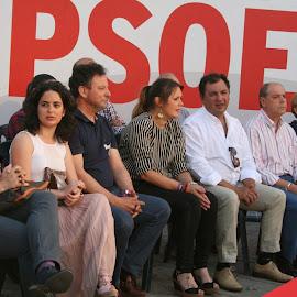 Mitin PSOE en Montijo