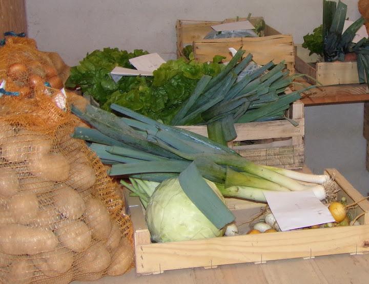 panier de légumes sur commande