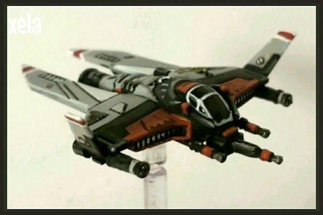conversión de Interceptor M3-A heavy Scyk pintado por Xela