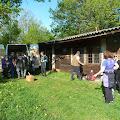Ekipa kod škole u Pećnom