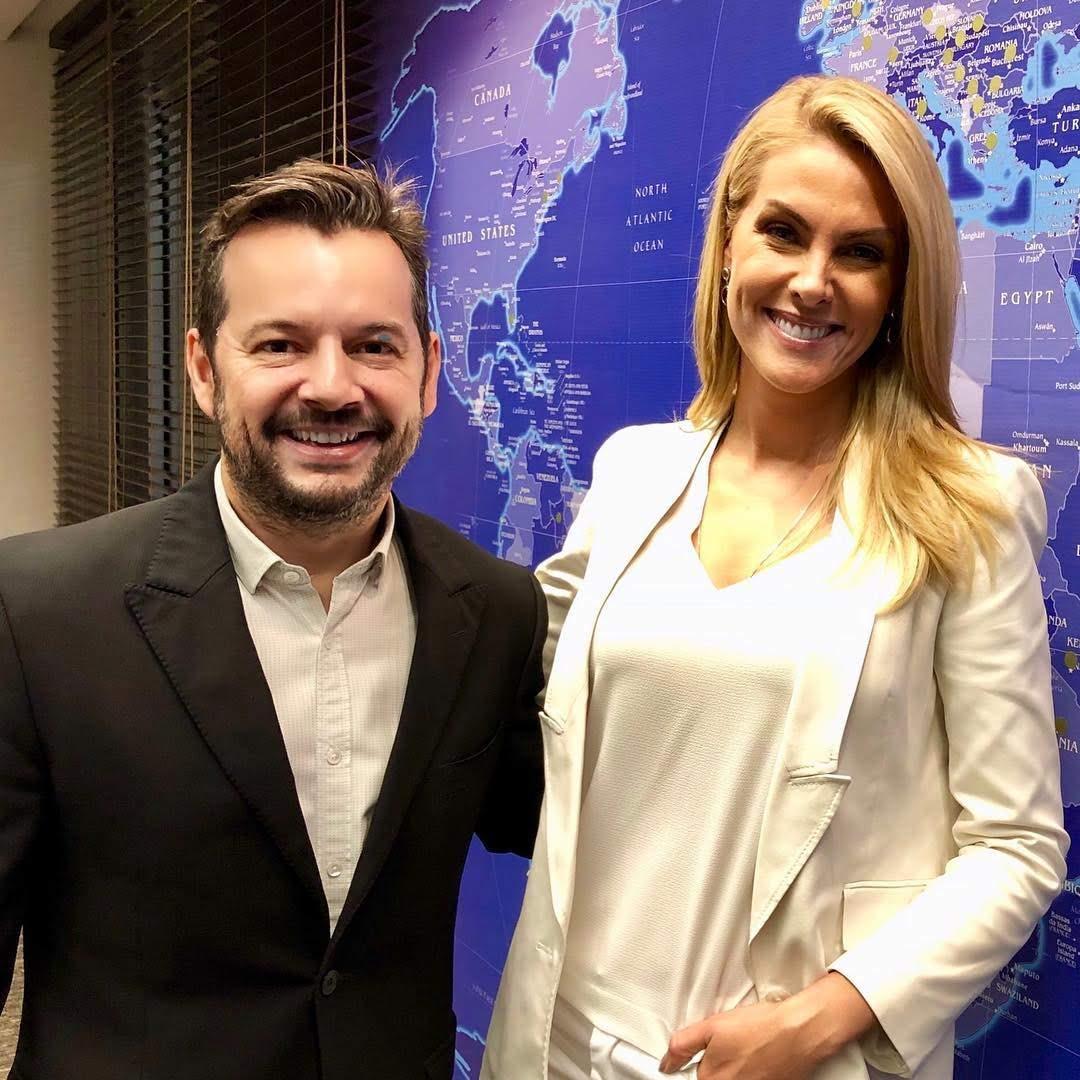 Renovação de contrato de Ana Hickmann com a Record TV é comemorada em todos os setores da emissora