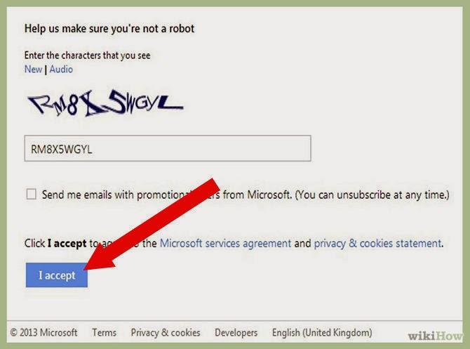 dang ky tai khoan microsoft hotmail buoc 10 Hướng dẫn đăng ký tài khoản Microsoft Hotmail bằng hình ảnh