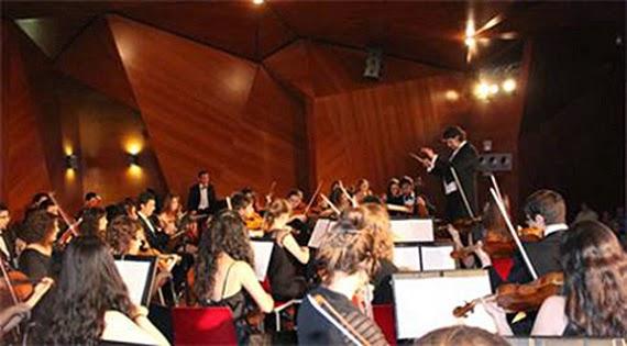 Concierto de la Orquesta Sinfónica de la UCM en CentroCentro Cibeles