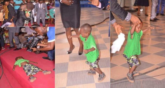 Apostle Suleman Raises Dead Child Back To Life (Photos)