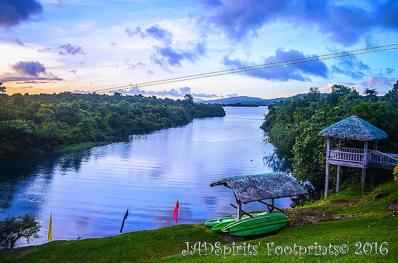 Caliraya Lake is a man-made lake 1200 above sea level