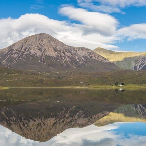 Scottish loch reflections