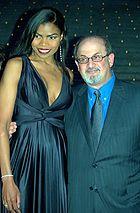 Pia Glenn And Salman Rushdie Shankbone 2009 Vanity Fair