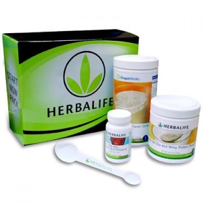 Perbezaan Cinch Shake Shaklee & Herbalife Protein