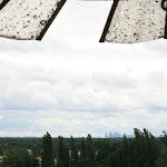 Parc du Prieuré : vue sur la Forêt de Saint-Germain et la Défense