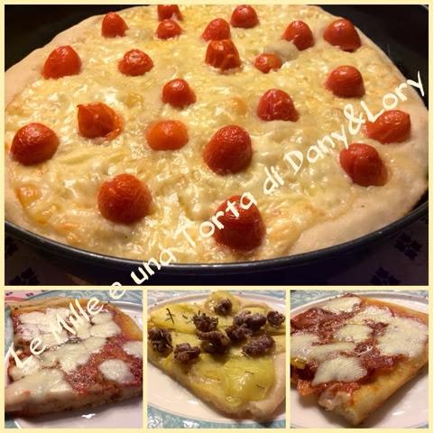 PIZZA FATTA IN CASA A LENTA LIEVITAZIONE