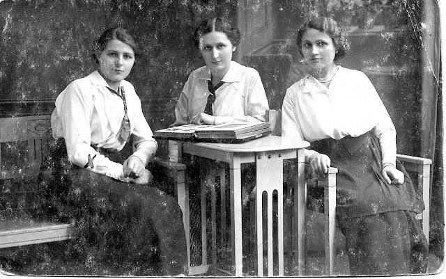 Three sisters of Bronislaus