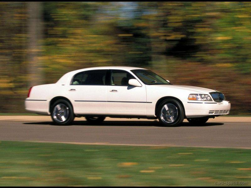 2008 Lincoln Town Car Sedan Specifications Pictures Prices
