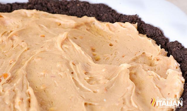 no bake peanut butter pie filling in crust