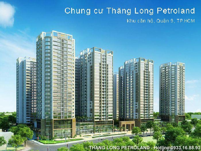 Dự án Chung cư Căn hộ Thăng Long Petroland Quận 9