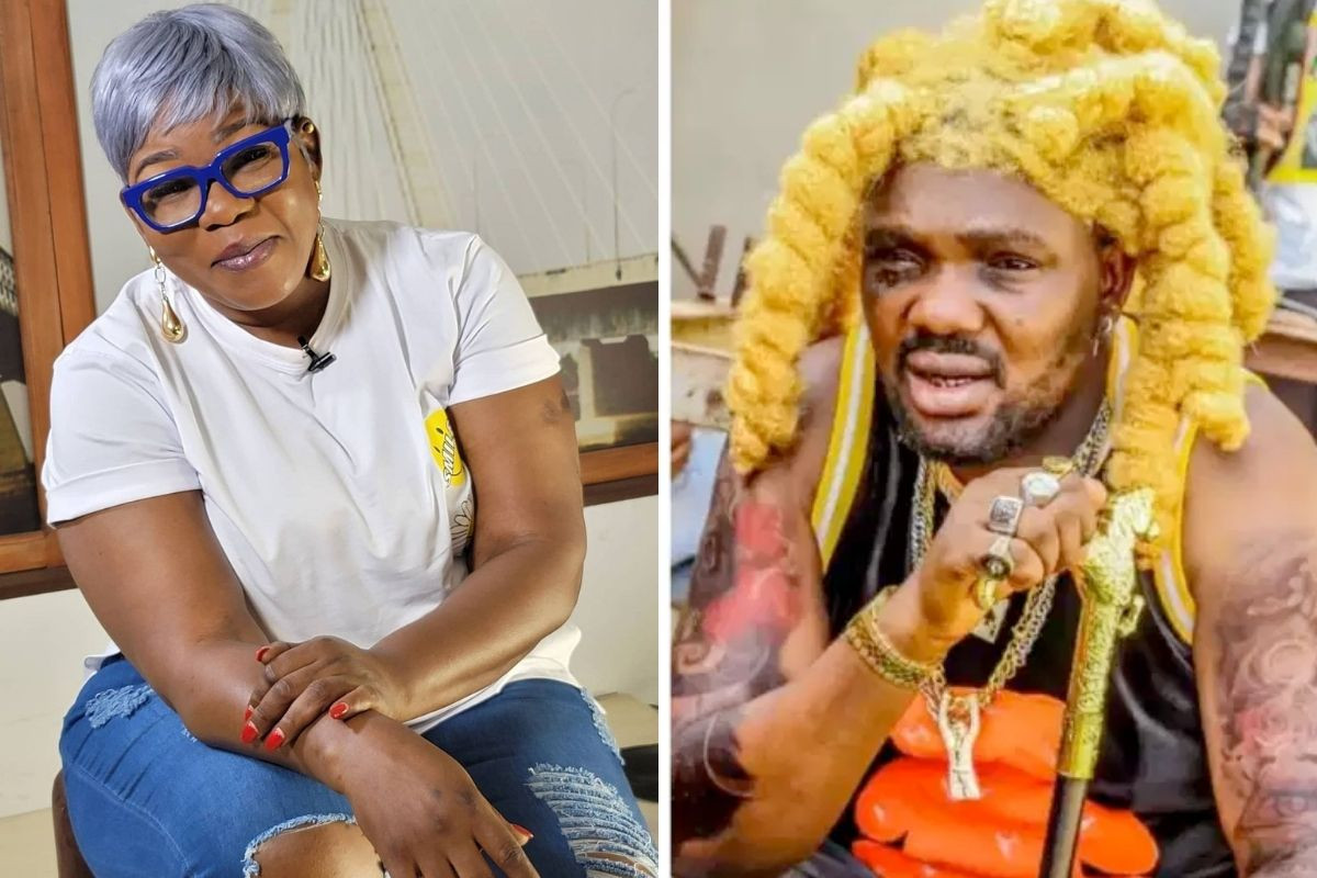 You're self-centered and wicked. You will reap your wickedness - Actress Ada Ameh calls out Yomi Fabiyi over controversial movie (video)