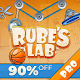 Rube's Lab PRO Physics Puzzle (game)