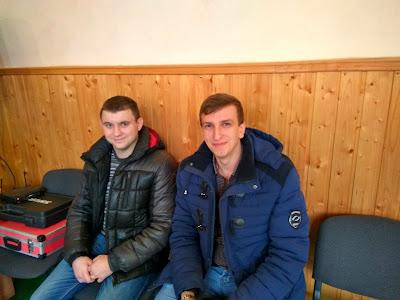 Студенти БДМУ: Богдан Костюк та Олександр Процишен