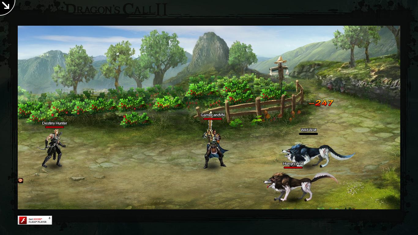 Một số hình ảnh về webgame Dragon's Call 2 - Ảnh 19