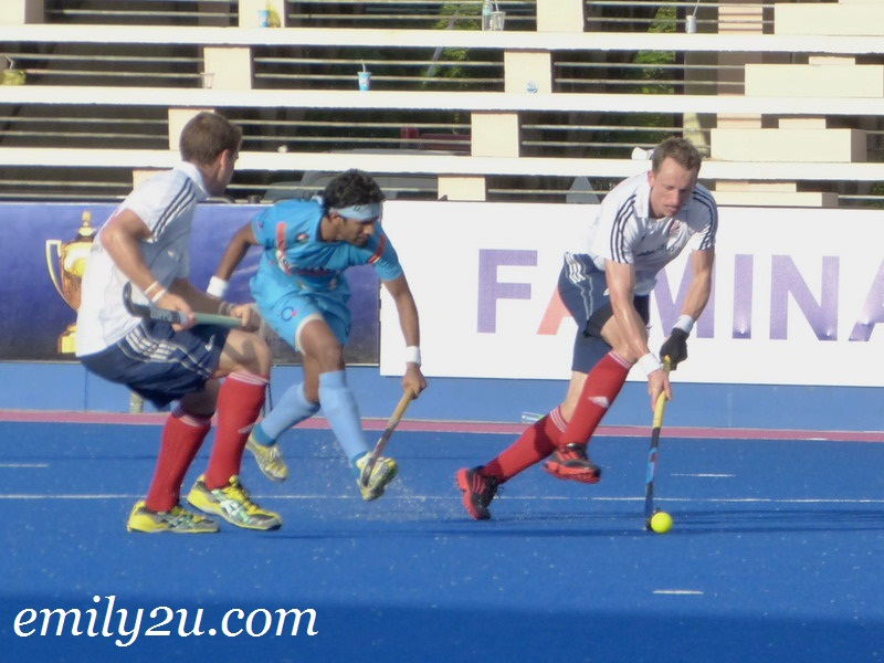 2012 Sultan Azlan Shah Cup - Match 23 - 3rd & 4th Place Playoff - Great Britain vs. India