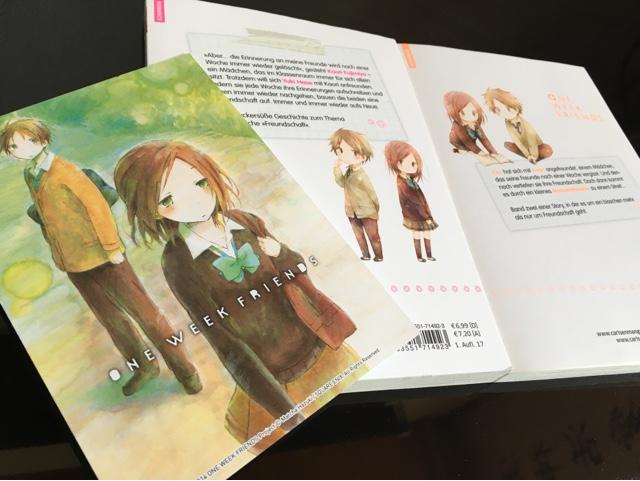 Review zum Manga One Week Friends (Carlsen)