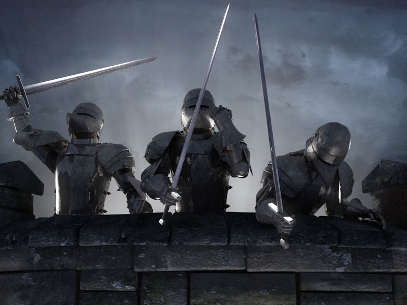 On The Wall, Warriors