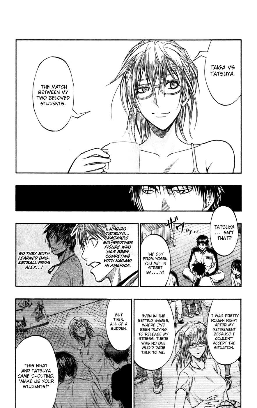 Kuroko no Basket Manga Chapter 141 - Image 08