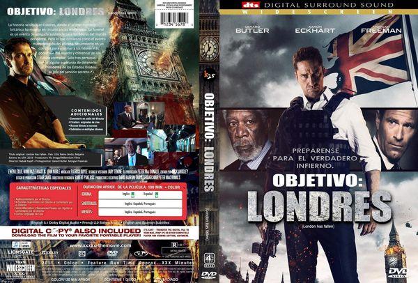 Objetivo: Londres – Castellano, Inglés