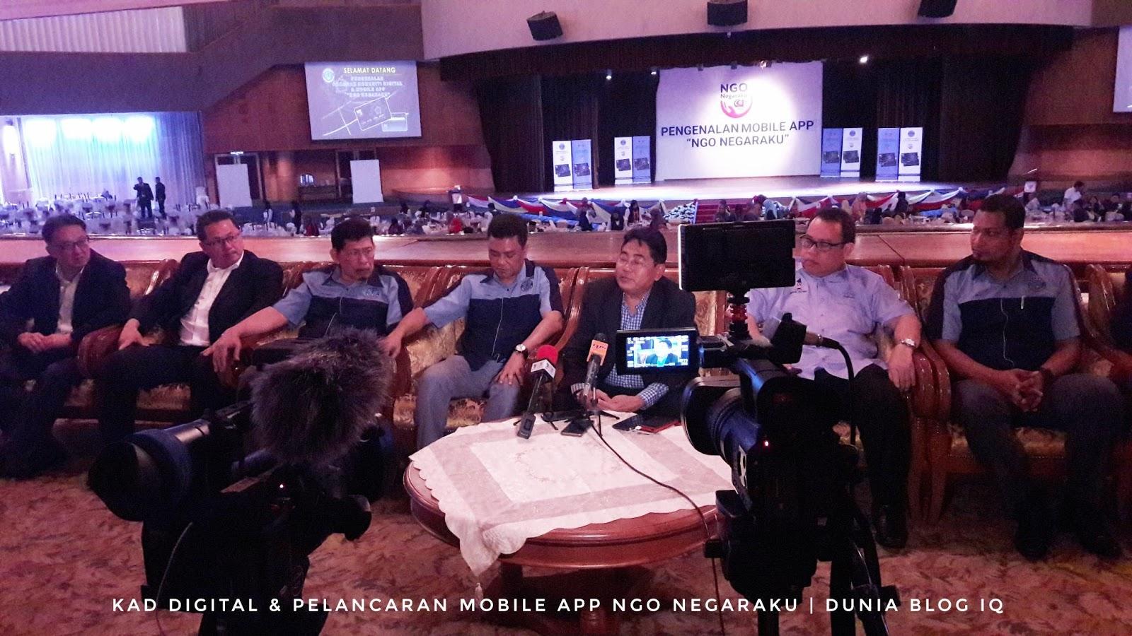 Kad Digital Dan Pelancaran Mobile App NGO Negaraku