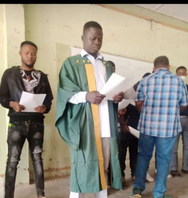 Fedpoffa Management Swears In Newly Elected Students' Union Executives