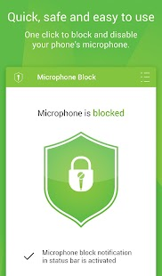 Microphone Block -Anti spyware Screenshot