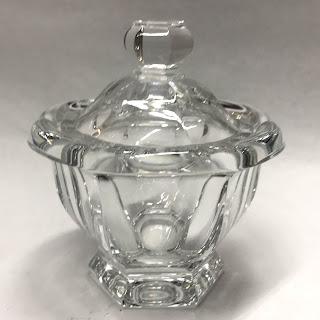 Baccarat Harcourt Jar w/ Fleabite