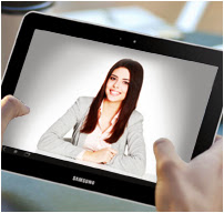 Video Conference in tablet