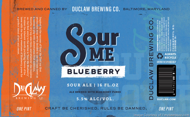 DuClaw Adding Sour Me Blueberry & Dad Bod 16oz Cans