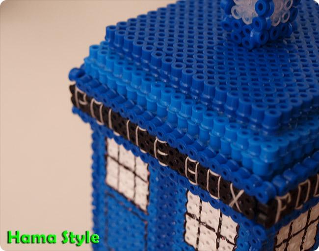 Trabajos 3D Hama Style Tardis4