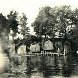 Bath Houses on Apple Island