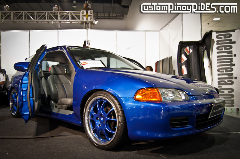 suicide door civic trans sport show 2011 custom pinoy rides leder interia