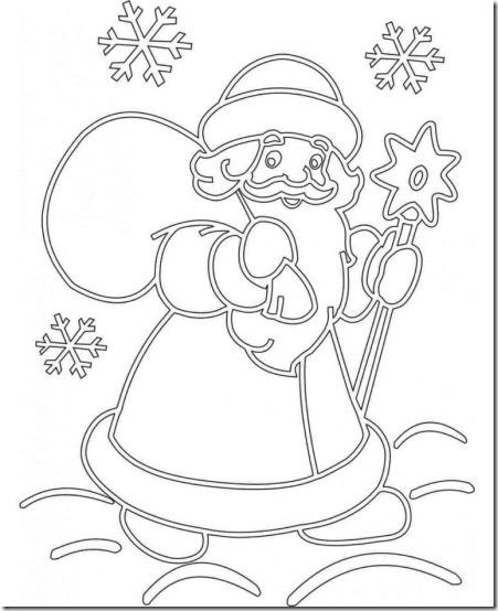 patrones para recortar ventanas navidad  (11)