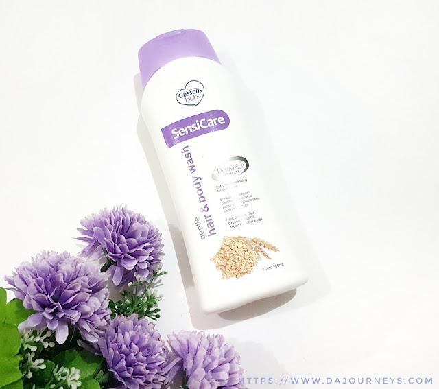 Cussons Baby Sensicare Gentle Hair & Body Wash