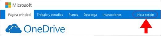 Abrir mi cuenta OneDrive - 603